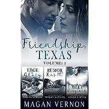 Friendship, Texas Series: Volume 1 (English Edition)