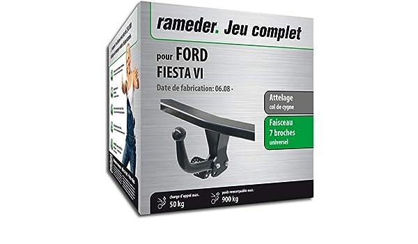 141738-07585-1-FR Faisceau 7 Broches Rameder Attelage d/émontable avec Outil pour Ford Fiesta VI