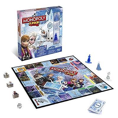 Hasbro Jeux b2247100–La Reine des Neiges de Disney–Monopoly Junior, famille Jeu
