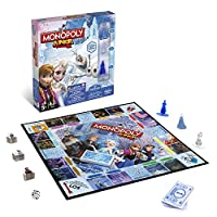 Hasbro-Spiele-B2247100-Disney-Die-Eisknigin-Monopoly-Junior-Familienspiel Hasbro Spiele B2247100 – Disney Die Eiskönigin – Monopoly Junior, Familienspiel -