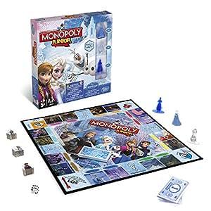 Hasbro Spiele B2247100 – Disney Die Eiskönigin – Monopoly Junior, Familienspiel