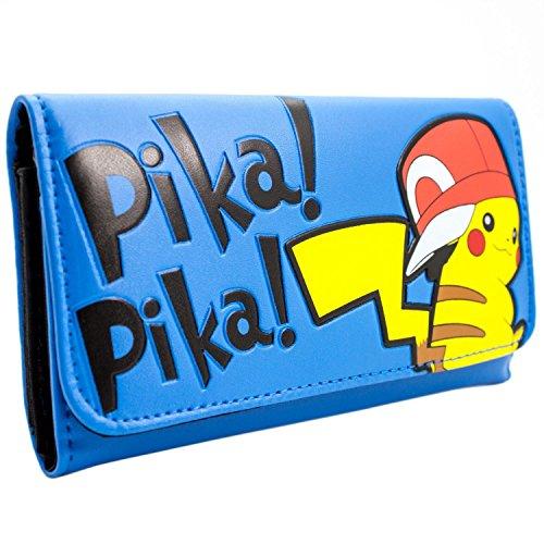 Nintendo Pokemon Pikachu Blau Portemonnaie (Bilder Pikachu Von Kostüme)