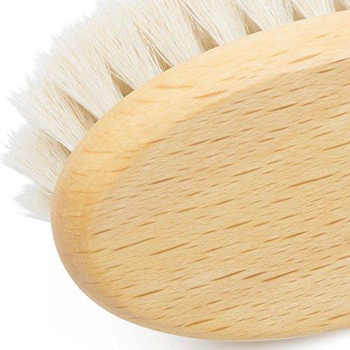 Grünspecht 604-00 Bio-Ziegenhaarbürste Natur-Pur - 3