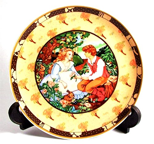 Heinrich Villeroy & Boch Rose sono Rosse della serie Once Upon a Rhyme By Renee Faure cp226