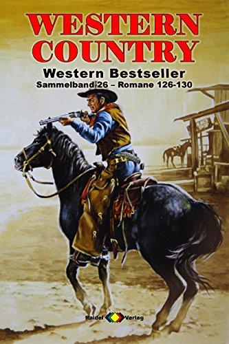 WESTERN COUNTRY Sammelband 26: Romane 126-130 (5 Western-Romane) - 128 Matt