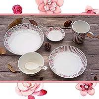 Achun Cuencos de Ensalada de diseño único pequeño Porcelana Fresca Porcelana Plato Porcelana tazón Taza Desayuno