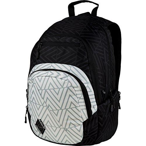 Nitro Stash Rucksack, Schulrucksack, Schoolbag, Daypack,  Diamond, 49 x 32 x 22 cm, 29 L, (Dakine Schwarz Rucksack)