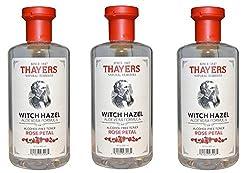 Thayers Alcohol-free gWwtqX Rose Petal Witch Hazel with Aloe Vera, 3Pack (12oz)
