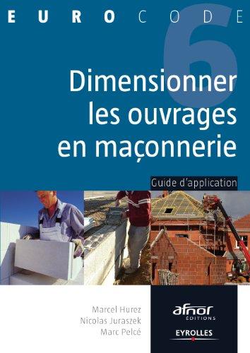 Descargar Libro Dimensionner les ouvrages en maçonnerie de Marcel Hurez