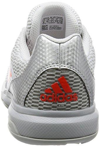 Adidas Multido Essence W, Baskets Femme Blanc (ftwbla / Energi / Plamet)