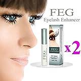 Best Lash Growth Serum - 2X FEG Eyelash enhancer!!! 2 pieces of most Review