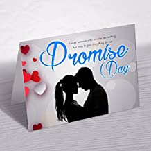 Krazzy Kollections Special Promise Day | Happy Promise Day Greeting Cards | Love Greeting Cards | Valentines Special Greetings Cards |