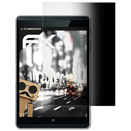 atFolix Blickschutzfilter für HP Pro Tablet 608 G1 Blickschutzfolie, 4-Wege Sichtschutz FX Schutzfolie