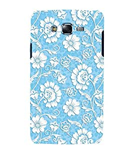 printtech Floral Pattern Back Case Cover for Samsung Galaxy J7 (2016 EDITION)