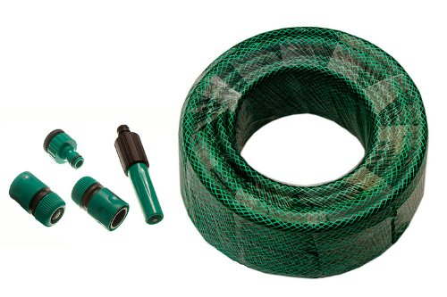 Green Garden tuyau d'arrosage renforcés 50M de longueur d'alésage 12mm Raccords