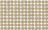 KwikCaps® PVC Cache-vis adhésifs VBA plus Trous de forage Clous Came