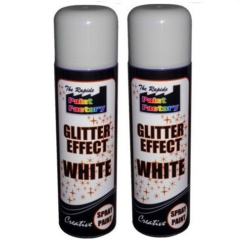 crazygadgetr-glitter-effect-spray-paint-can-decorative-creative-crafts-art-diy-design-colour-2-white