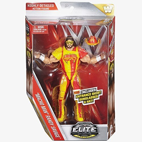 WWE Elite Series 44 Action Figure - Macho Man Randy Savage