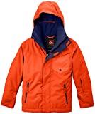 Quiksilver Jungen Snowboard Jacke Mission Y Jacket, Mandarin Red, M, EQBTJ00025
