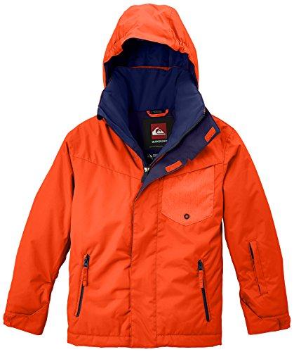 Quiksilver Jungen Snowboard Jacke Mission Y Jacket Mandarin Red M