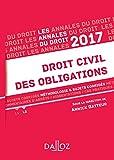 Telecharger Livres Annales Droit civil des obligations 2017 Methodologie sujets corriges (PDF,EPUB,MOBI) gratuits en Francaise