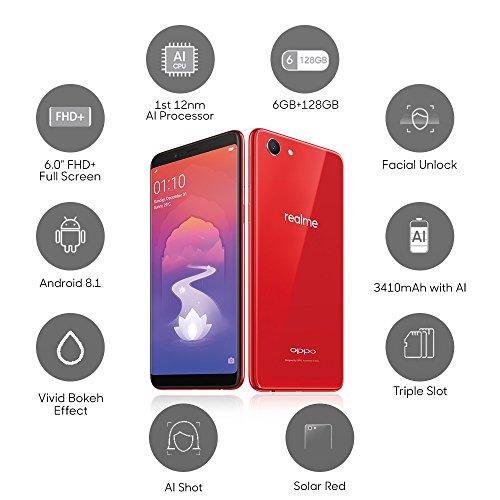 RealMe 1 (Solar Red, 6+128 GB)