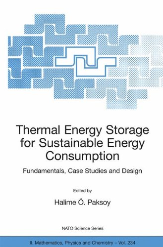 Thermal Energy Storage For Sustainable Energy Consumption Fundamentals Case Studies And Design Nato Science