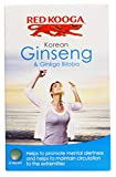 THREE PACKS of Red Kooga Ginseng Ginseng & Ginkgo Biloba 32s from RED KOOGA