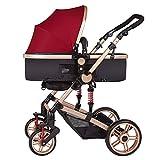 Ultraleichte Kinderwagen kann liegen gefaltet Schock Buggy Kinderwagen Kind Roller hoch Landschaft Kinderwagen sitzen ( farbe : B )