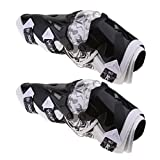 Sharplace 1 Paar Motorrad-Knieschützer Rüstung Knieschützer-Schutzausrüstung Für Motorrad...