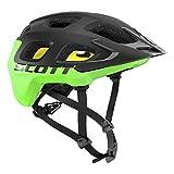Scott Vivo Plus MTB Fahrrad Helm schwarz/grün 2018: Größe: S (51-55cm)