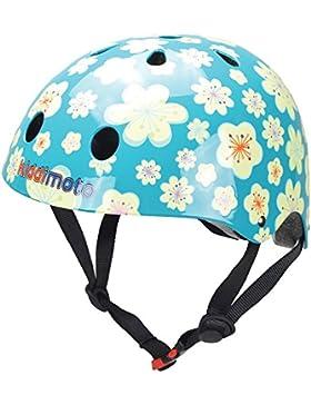 Kiddimoto Casco de Ciclismo Fleur Turquesa S (48-53 cm)
