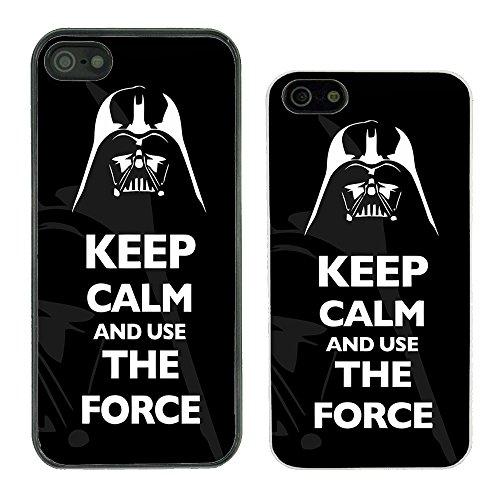 Funny Keep Calm per Apple (n ° 19) Star Wars Force - G1041 - Black