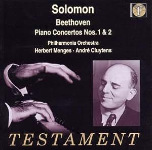 Solomon / Beethoven : Concertos Pour Piano N 1, Op. 15 & N 2, Op. 19