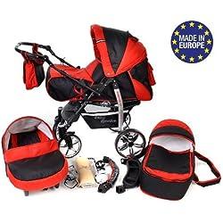 Baby Sportive - 3 en 1, RUEDAS GIRATORIAS y accesorios