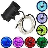Color You Impermeabile LED Ruote Bicicletta Bicicletta LED Luce Raggi Bicicletta Luci LED Accessorio per Bicicletta per Bambini Adulti
