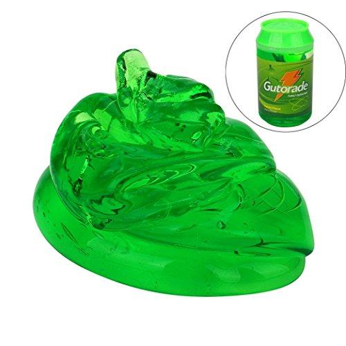 BBsmile Neue bunte mischende Wolken-Schlamm-Spielwaren, dünnes helles Pulver-Kristallschlamm weiches Lehm-Weiche Kitts parfümierte Druck-Entlastung Spielzeug-Geschenke, (grün) (Grüne Frucht)