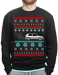 GTi MK2 16v Christmas Xmas Ugly Sweater Sweatshirt