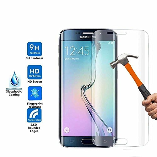 MARKET AFFAIRS Full Screen Transparent Tempered Glass for Samsung Galaxy S7
