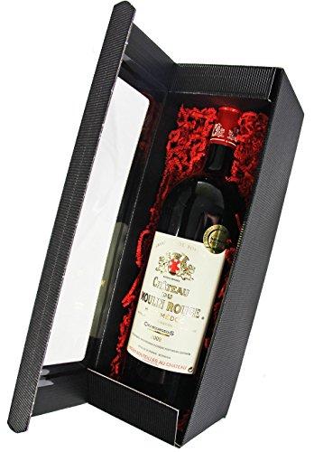 Weinpräsent Magnum Rotwein Château du Moulin Rouge 2009 A.O.C. Bordeaux - Haut Médoc (1 x 1,5l) -