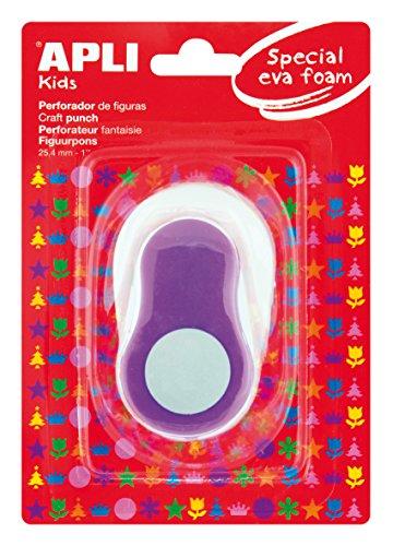 APLI Kids 13301 - Perforadora especial goma EVA redondo
