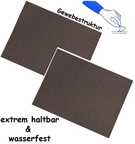 2 Stück _ selbstklebende Reparatur Sticker - festes & stabiles - Camping Nylon -