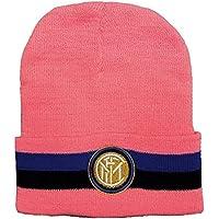 Cuffia Inter Ufficiale Rosa Berretto Acrilico Cappello F.C.Internazionale  CUFINTROSA01 b5118870dab4
