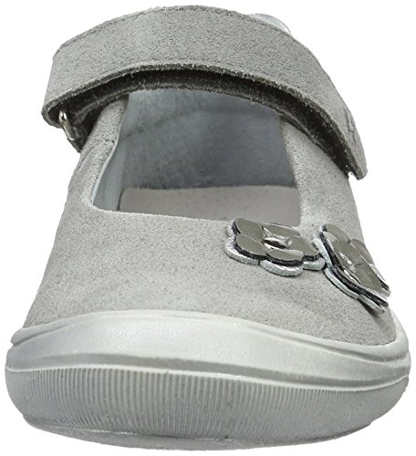 Richter Kinderschuhe Dandi, Ballerines fille Grau (rock/silver/shadow)
