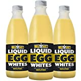 Uncle Jack's Free Range Liquid Egg Whites 3 x 970ml Bottle Eggs Protein