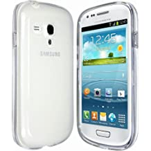 NOVAGO Coque en TPU souple transparente pour Samsung Galaxy S3 Mini
