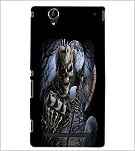PrintDhaba Owl Pendant D-2384 Back Case Cover for SONY XPERIA T2 ULTRA (Multi-Coloured)