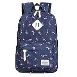 Winnerbag 6 Farben Flamingo Drucken Rucksack Frauen Leinwand Schule Rucksack für Jugendliche reisen Rucksack weiblichen Cartoon Rucksäcke
