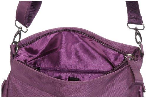 Sansibar Twister Ltd. Edition B-961 TL 38, Borsa a tracolla donna, 33 x 25 x 11 cm (L x A x P) Viola (Violett (aubergine))