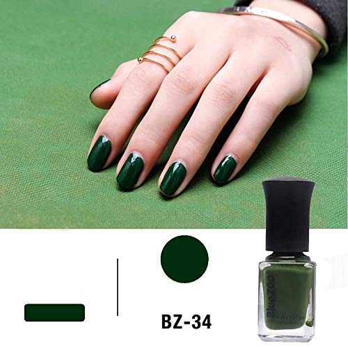 Pintauñas 6 ml, Serie Verde, Color Sólido, 60 Seconds